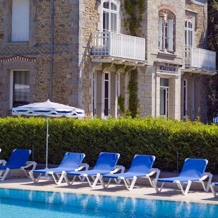 Hôtel Ker Juliette - Piscine extérieure