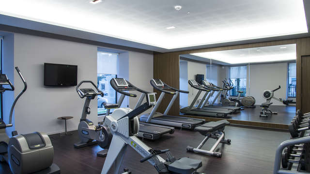 Hotel Radisson Blu Nantes - RADISSON BLU NANTES fitness