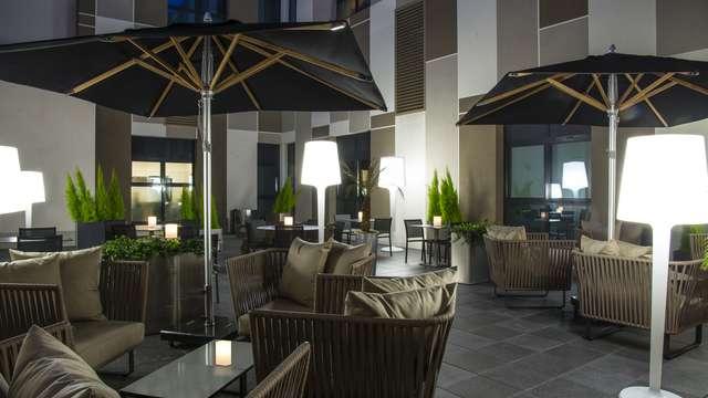 Hotel Radisson Blu Nantes - RADISSON BLU NANTES terrasse