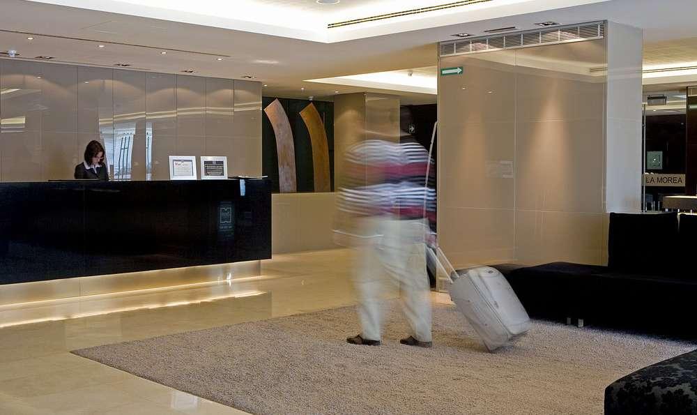 Hotel Zenit Pamplona - Hall d'entrée