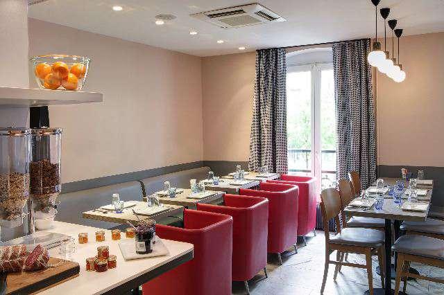Contact Hotel Alizé Montmartre - Sala de desayuno