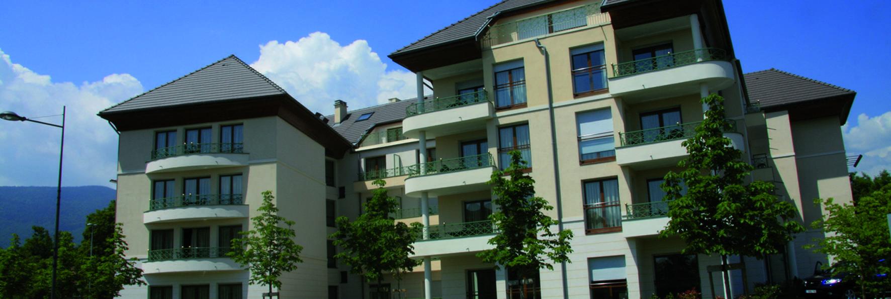 Zenitude Hôtel-Résidences Divonne Confort - Front