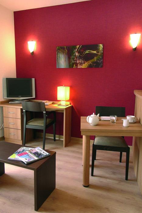 Zenitude Hôtel-Résidences Divonne Confort - Seating area