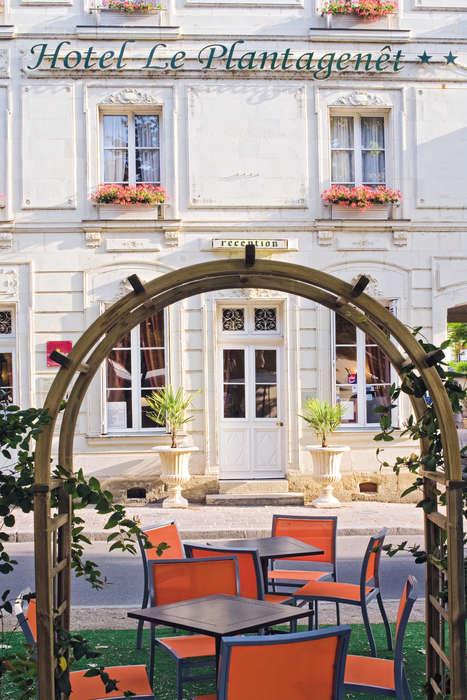 Hôtel Le Plantagenêt - HOTEL_LE_PLANTAGENET_facade.jpg