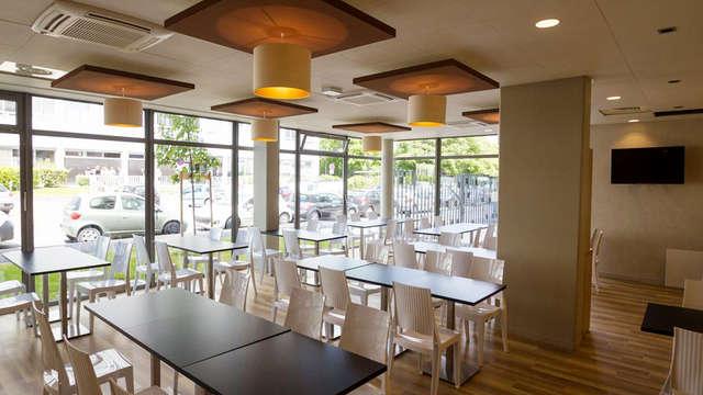 Quality Suites Lyon Lodge - FR QS Lyon restaurant