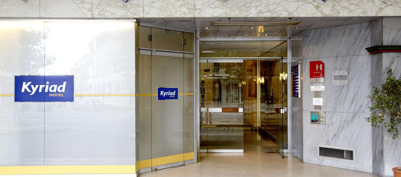 Hôtel KYRIAD Tours Centre - Front