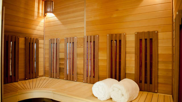 1 accès au sauna privé