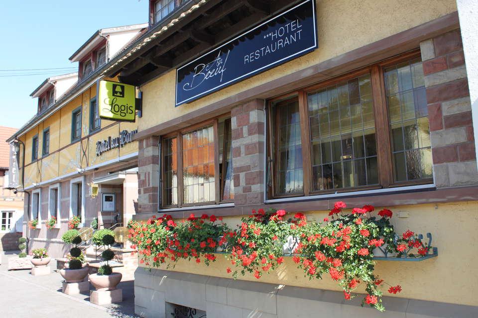 Hôtel Restaurant Au Boeuf - Façade