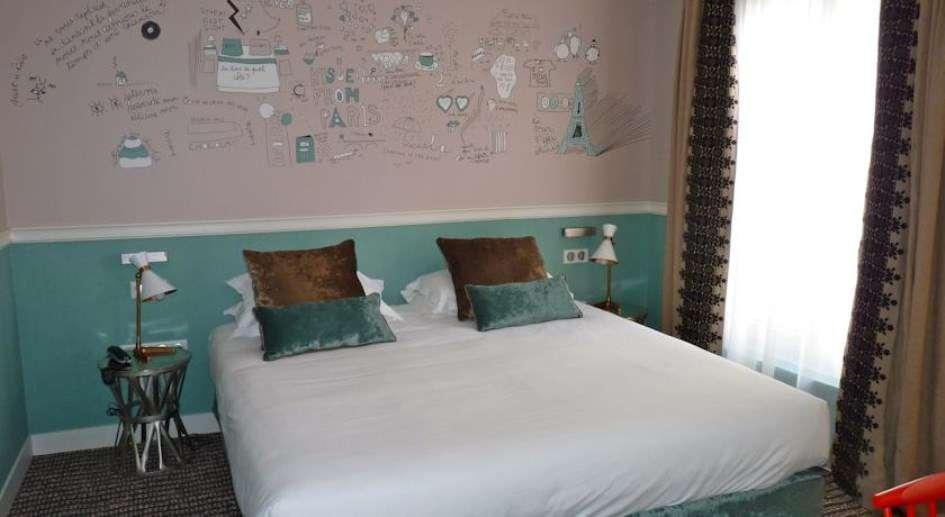 Hôtel des 3 Poussins - Standard room