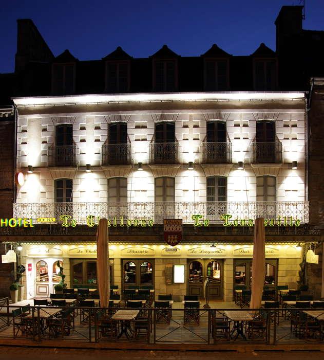 Hôtel Le Challonge - Façade