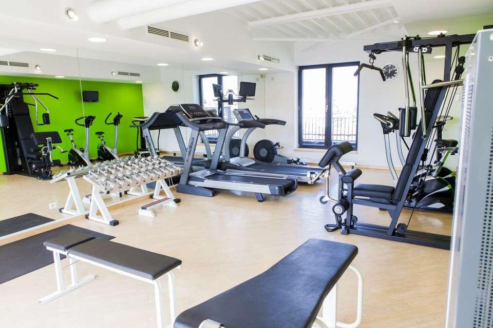 Hôtel Le Châtelain - Salle de fitness