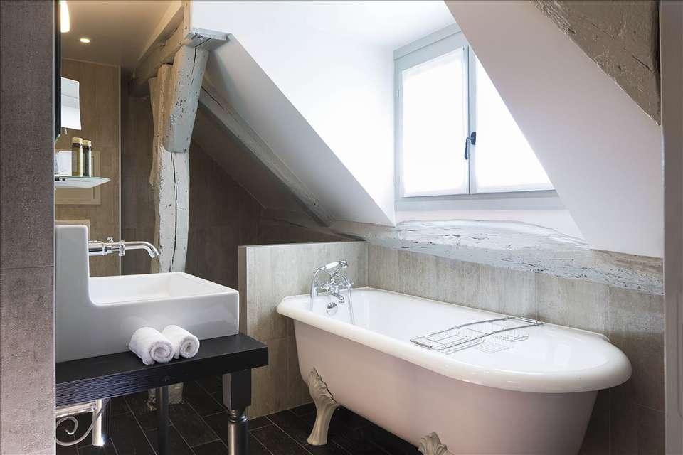 Les Plumes Hôtel  - Salle de bain