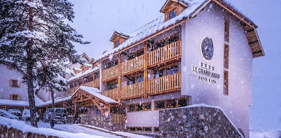 Week end de luxe en montagne chantemerle serre chevalier for Hotel luxe paca