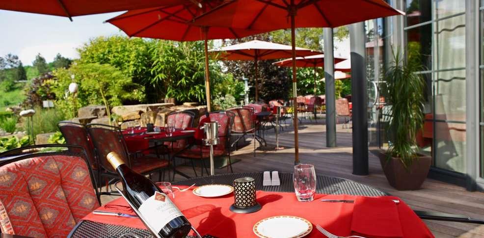 Weekend in de buitenlucht erpeldange sur s re met for Jardin tecina booking