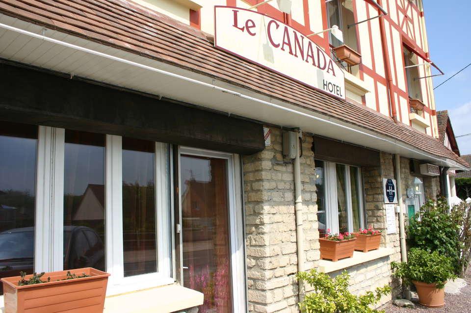Hôtel le Canada   - Façade