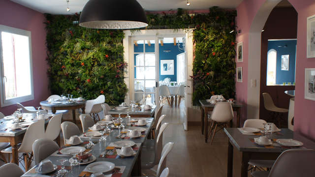 Hotel des Pins - Restaurant l Esprit Jardin