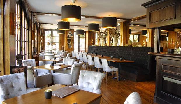 Gastronomía con vistas al Semois, en las Ardenas belgas