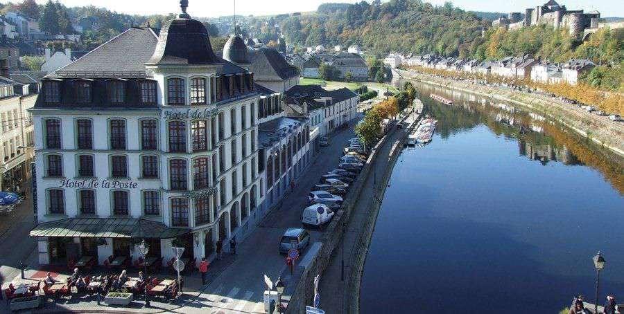 Hotel de la Poste - Relais Napoléon III - Aerial view