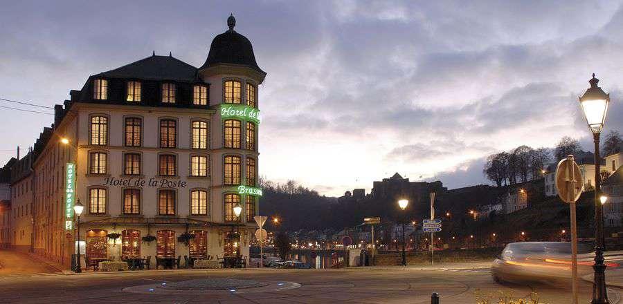 Hotel de la Poste - Relais Napoléon III - Front