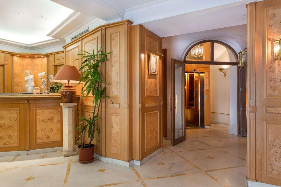 Hôtel Princesse Caroline - Réception