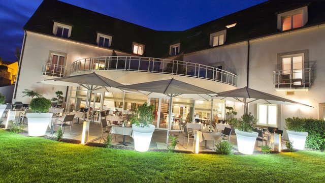 Le Richebourg Hotel Restaurant et Spa - terrasse