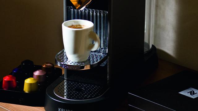 Privilege Hotel Mermoz - cafetiere-nespresso