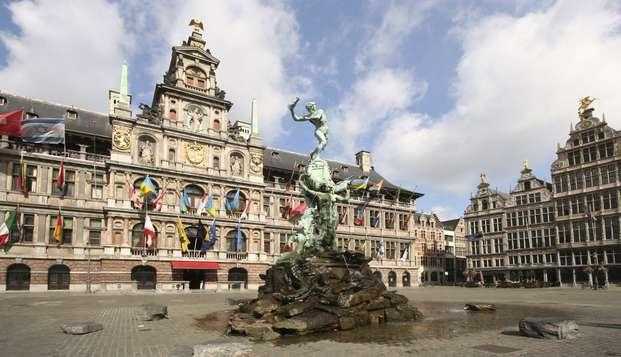 Bezoek de bruisende stad Antwerpen (vanaf 2 nachten)