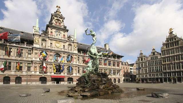Visite de la ville animée d'Anvers (à partir de 2 nuits)