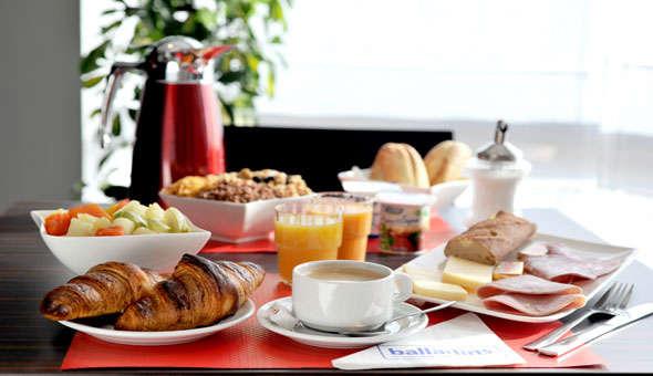 Hotel The Originals Carcassonne (ex Inter-Hotel) - Salle de petit déjeuner