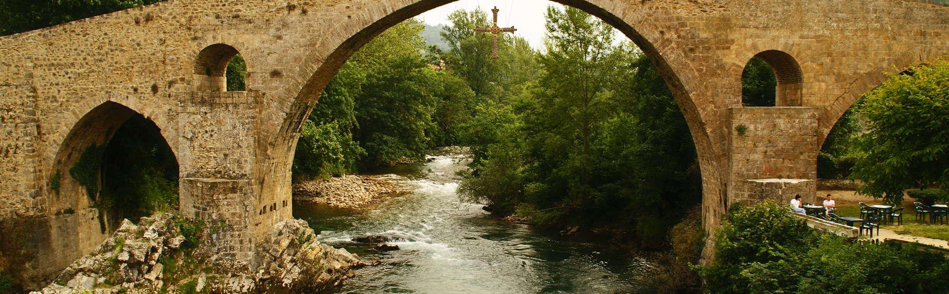 Grupo Hotelero La Pasera - Roman_bridge_at_Cangas_1_com.jpg