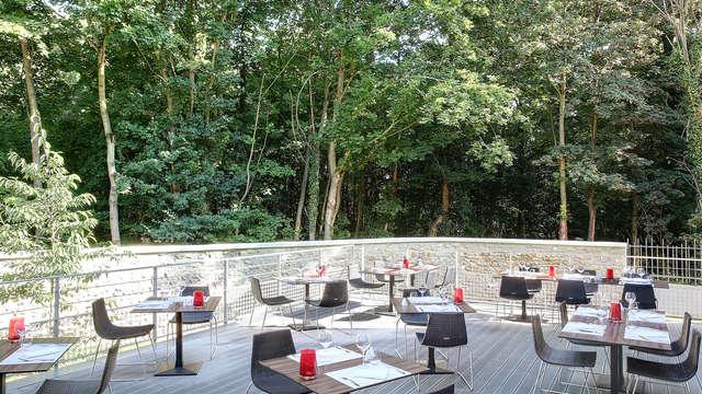Best Western Plus Paris Meudon Ermitage - Terrasse