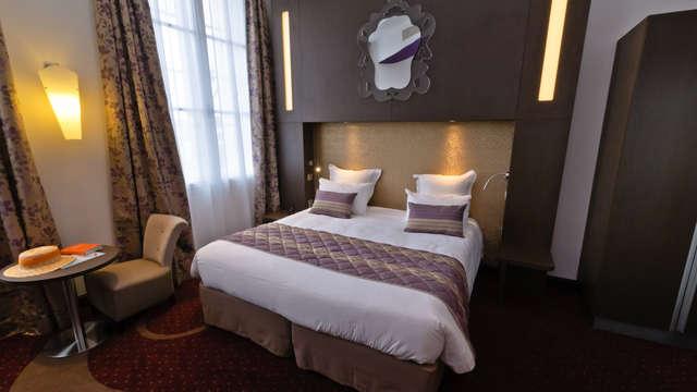 Hotel Francois Premier Cognac Centre - -chambre-superieure-double-hotel-francois-premier-cognac-centre