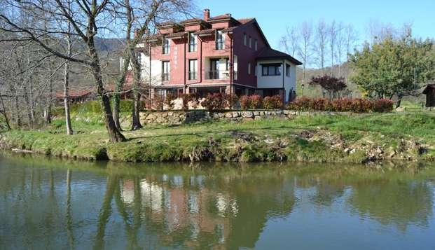 Romanticismo en un hotel rural con acceso a jacuzzi en los Picos de Europa