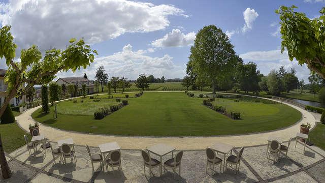 Hotel Chateau Et Spa Grand Barrail - parc