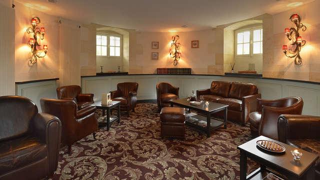 Hotel Chateau Et Spa Grand Barrail - fumoir