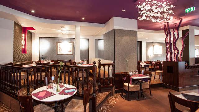 Dîner 3 plats dans un restaurant au choix parmi nos partenaires pour 2 adultes
