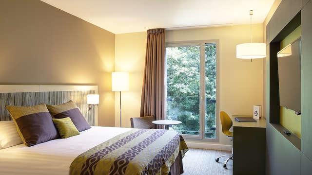 Best Western Plus Paris Meudon Ermitage - chambre standard foret nouvel an