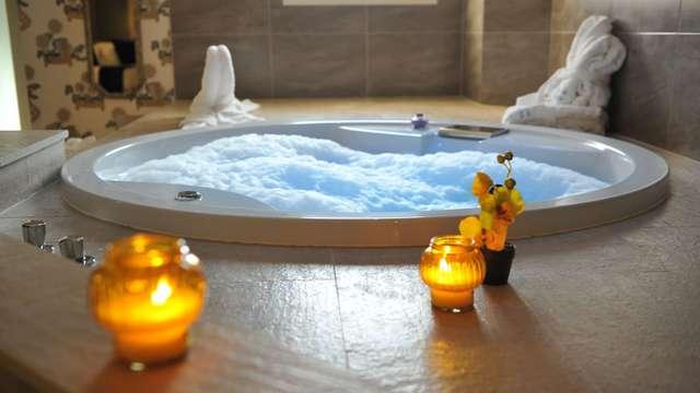 Bain hydromassant en chambre