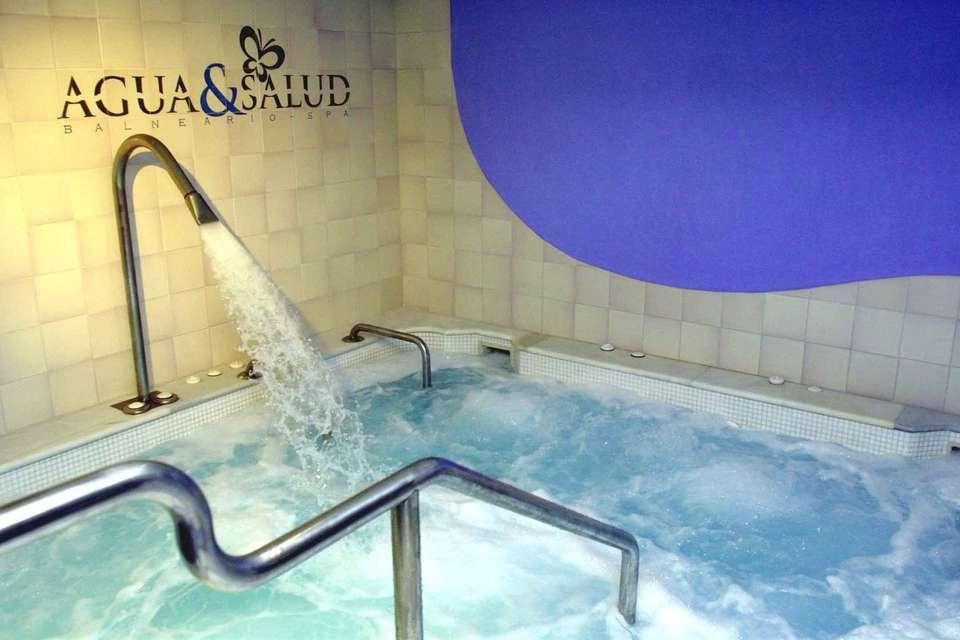 Week end bien tre s ville avec 1 acc s au spa agua et for Hotel design andalousie