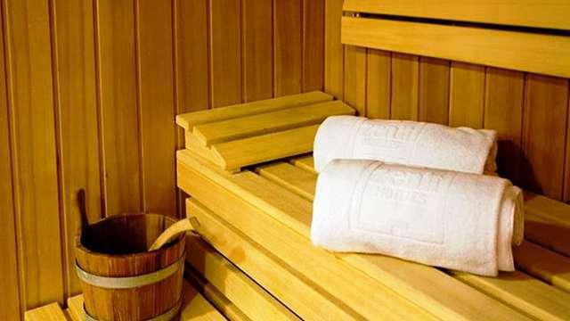 Accès au sauna (jour 1 et jour 2)