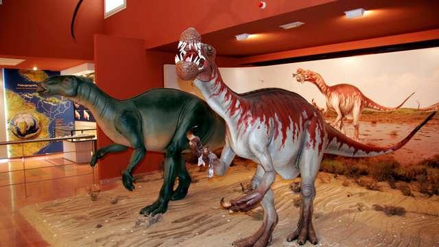Entrada para el Centro de Interpretación Paleontológica de La Rioja