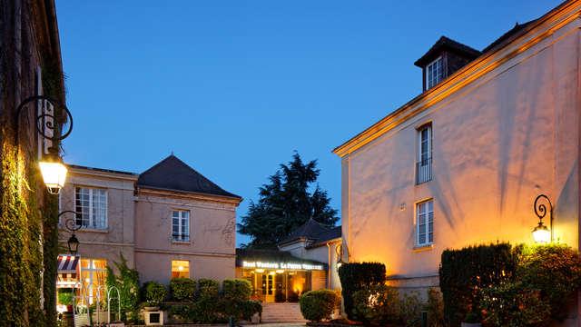 Hotel La Petite Verrerie - Facade nuit LPV