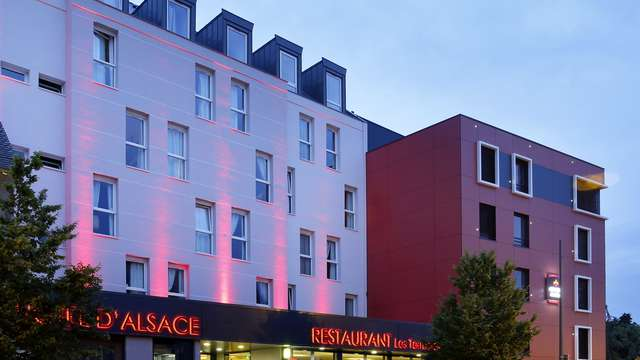 Hotel The Originals d Alsace Strasbourg Sud ex Qualys-Hotel