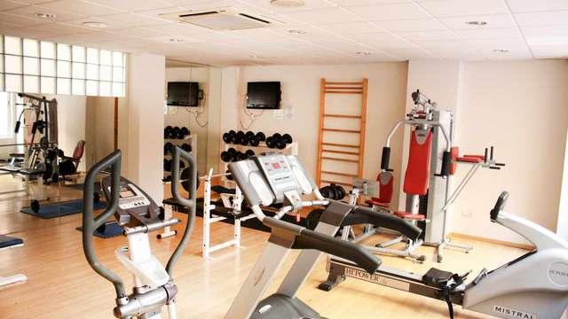 acceso al gimnasio para 2 adultos