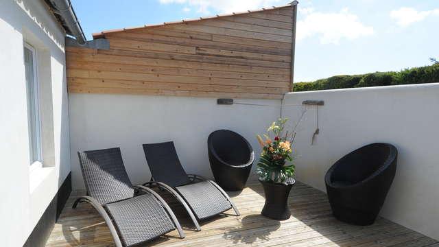 Elegance Suites Hotel - ESH - Suite Balneo Luxe - terrasse