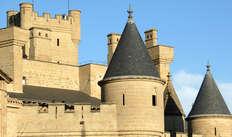 Bezoek aan het kasteel van Olite