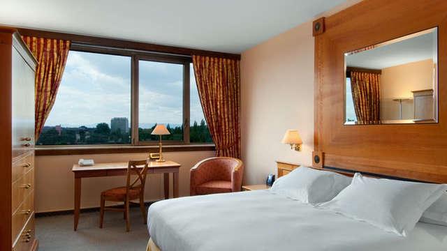 1 overnachting in een tweepersoons kamer deluxe met stadszicht voor 2 volwassenen