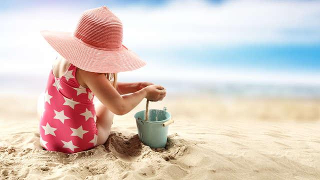 Hébergement et petit-déjeuner offerts pour un enfant