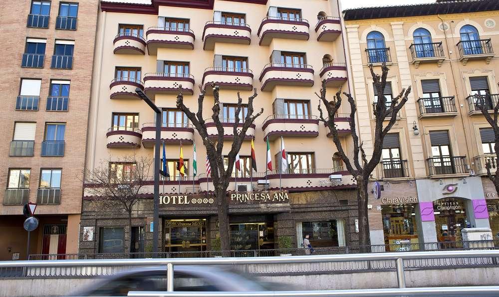 Hotel M.A. Princesa Ana  - Fachada.jpg