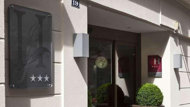 Hotel Elysees Bassano - FACADE